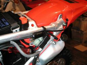 I did the pink wire mod  CRF's Only Forums