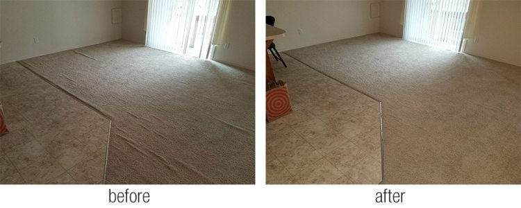 carpet stretching and repair in Tacoma