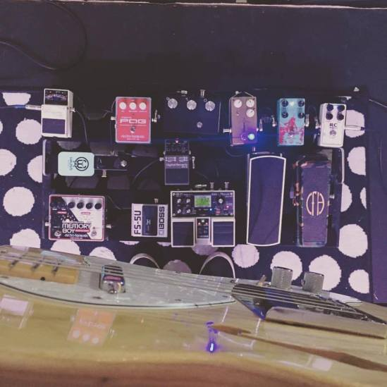 Worship Guitar Music Gear - Ricky Garvey Pedalboard