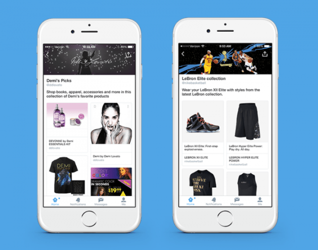 Twitter Product Pages