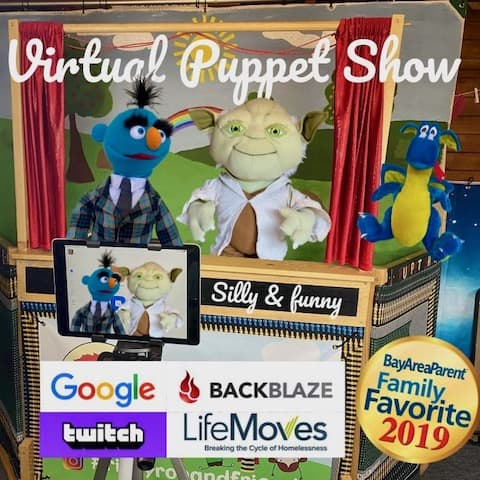 Best Virtual Kids Birthday Parties Ricky Roo Friends Puppet Shows