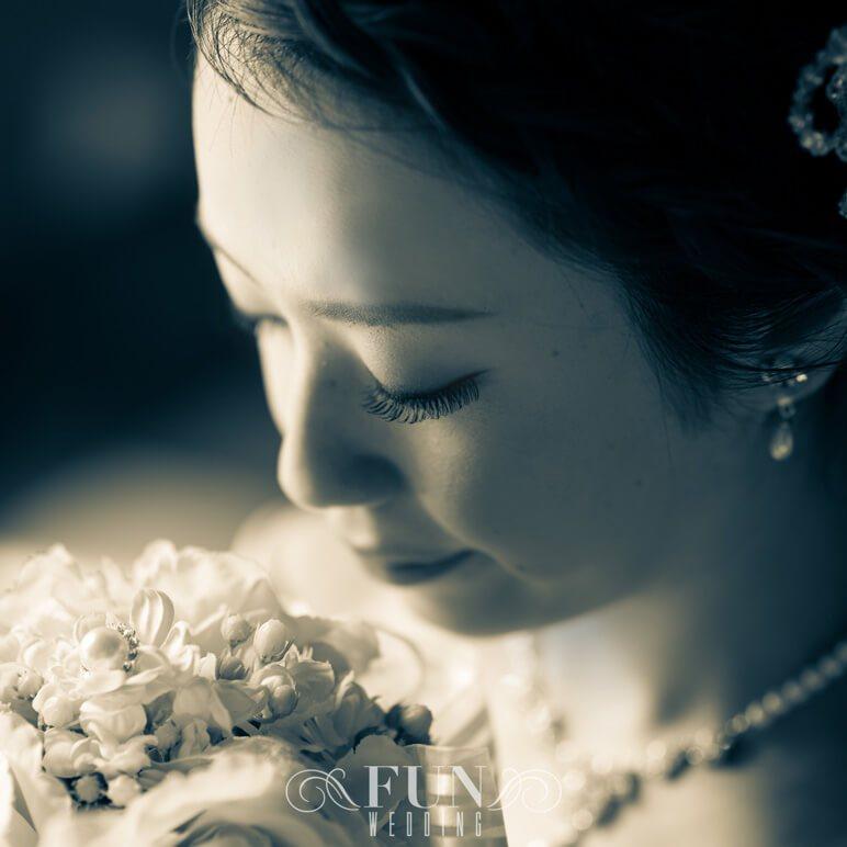 結婚式 新婦 きれい