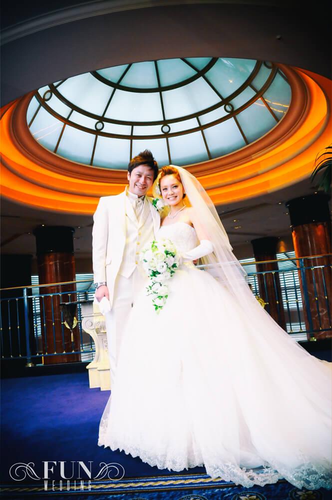 ウェスティンホテル東京 結婚式 前撮り