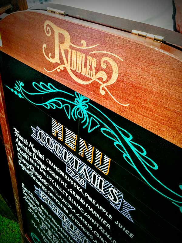 Riddles Mobile Bar Altrincham 2