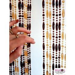 rideau perles sur mesure mireille