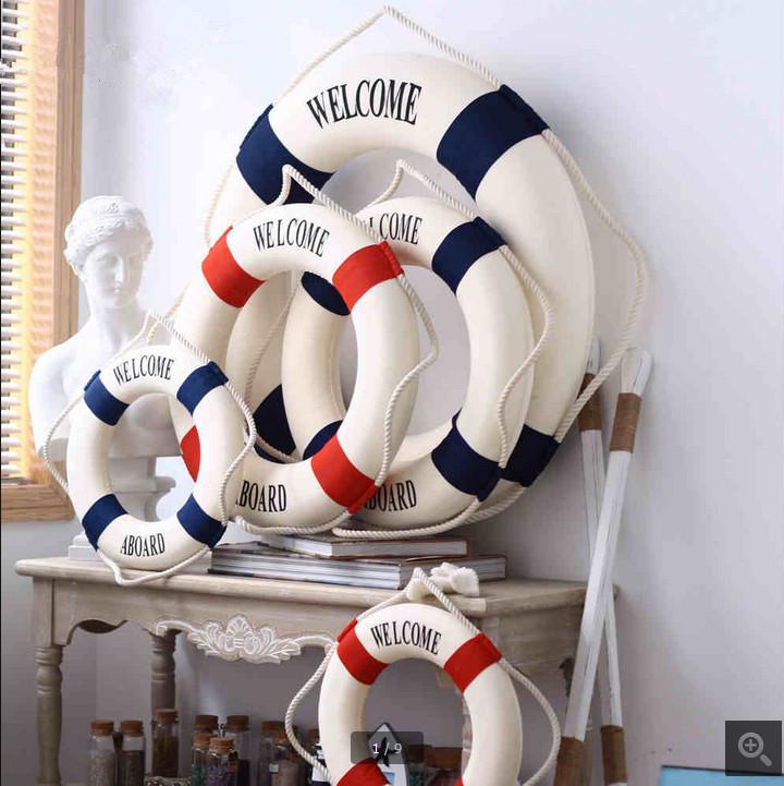 rideau tissu style marin bateau