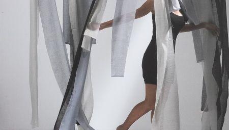 rideaux et doubles rideaux en voile de lin