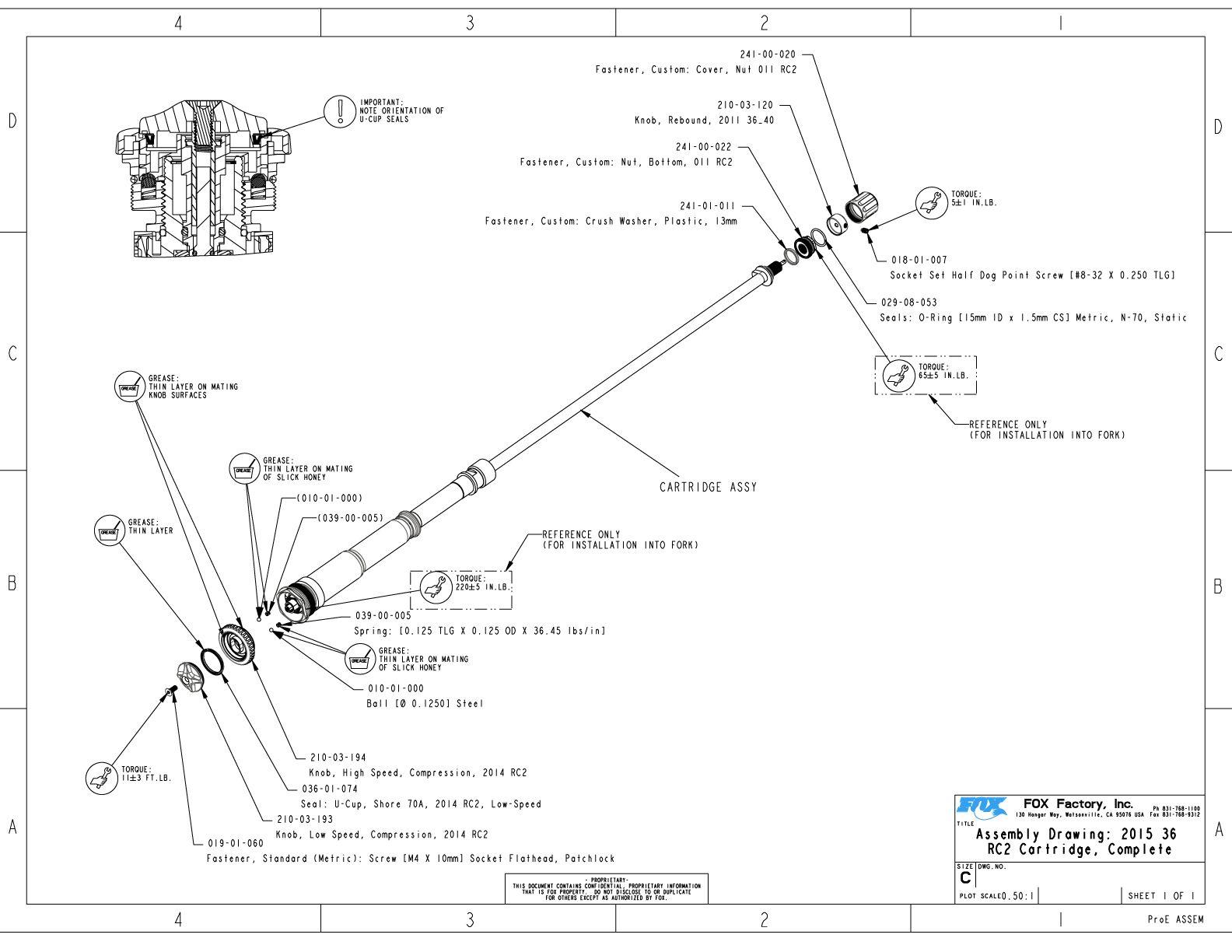 36mm Part Information