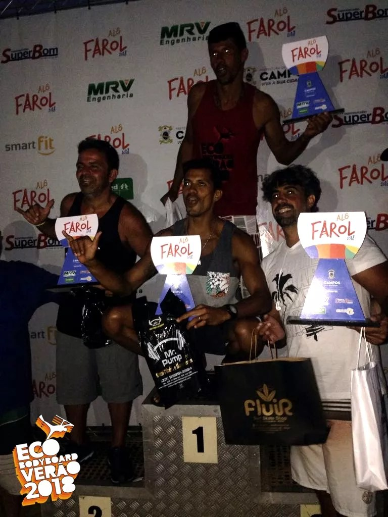 podio master equipe campeã