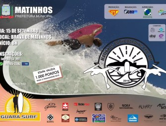 Praia Brava de Matinhos recebe a segunda etapa do Circuito Matinhos Bodyboarding Pro/Am 2018