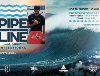 Edson Vieira no Pipeline Pro 2019