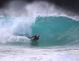 Tubarão se defende de bodyboarder em Noronha