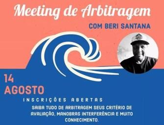 Meeting de arbitragem com Beri Santana