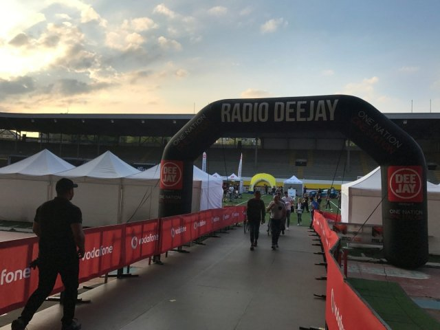 Vodafone Milano Ride 2017 by Radio DJ