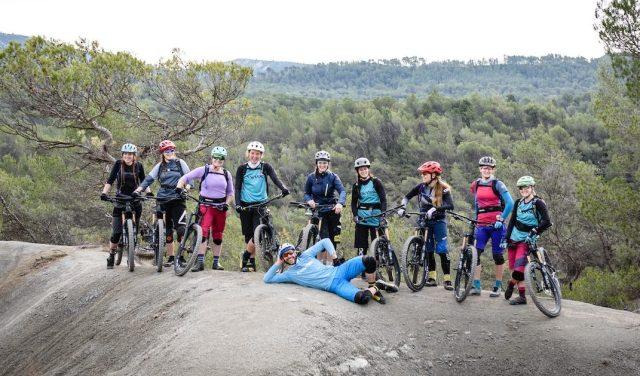 Donne in bici con Ines Thoma e Fabien Barel per testare la nuova Canyon Spectral WMN