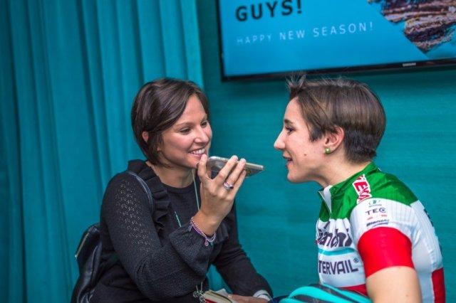 Giulia De Maio con Chara Teocchi