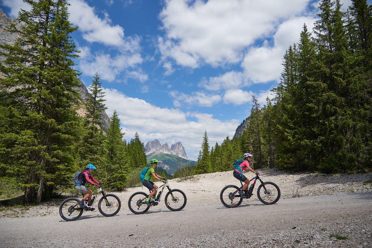 Sara Taiocchi: una runner in bici in Val di Fassa