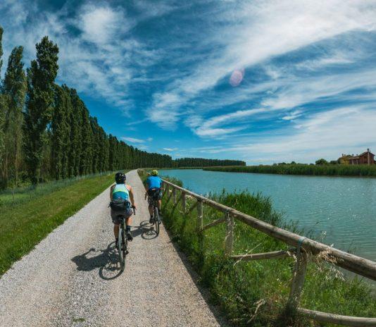 percorso in bicicletta lungo in Sile