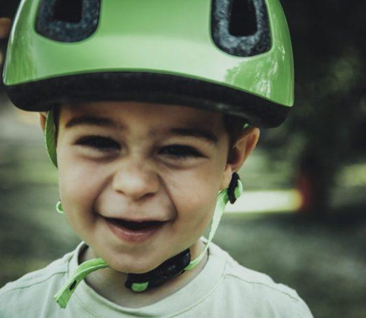 casco da bambino da bici decathlon