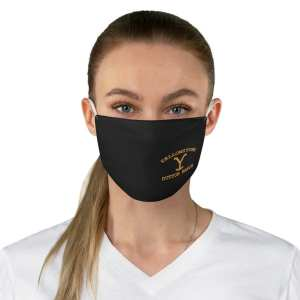 Yellowstone Fabric Face Mask