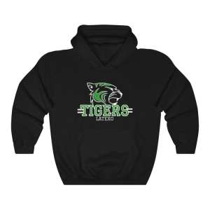 Latexo Tigers Unisex Hoodie with Kangaroo Pocket
