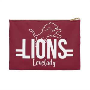 Lovelady Lions Accessory Pouch