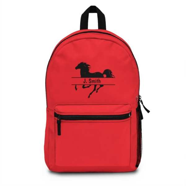 Horse Backpack with Personalization