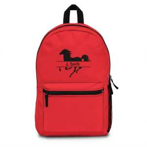 Personalized Horse Backpack (Made in USA)