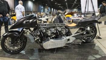 Penton and Bultaco at OKC Motorcycle Show - Ride Oklahoma
