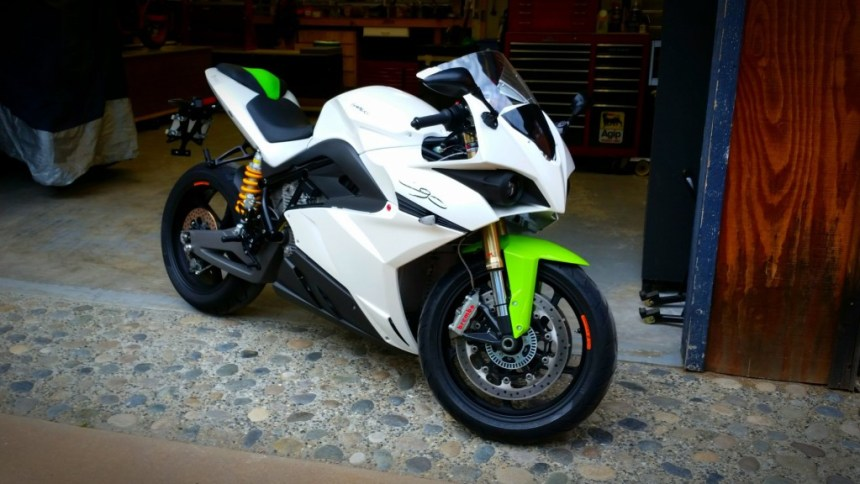 Energica Electric Motorcycle