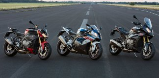 2017 BMW S 1000 R, S 1000 RR and S 1000 XR