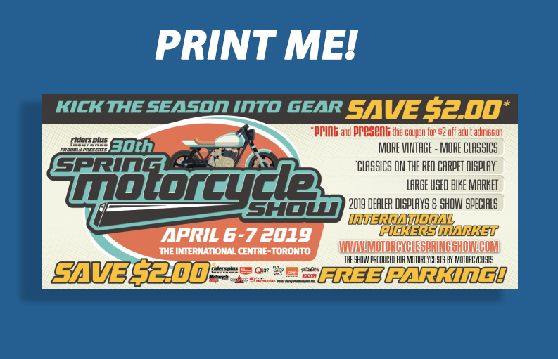 Calgary Motorcycle Show - Discounted Tickets?