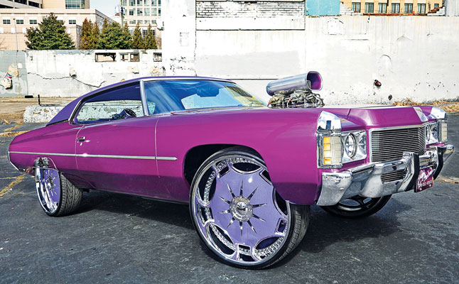 rides, donk, cars, chevy, chevrolet, impala, 71, 1971, grape, ape, jarvis, atl, atlanta