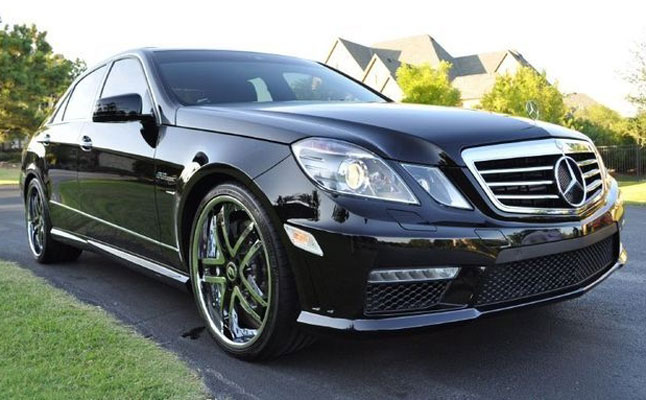 Rides cars 2010 Mercedes-Benz E63 AMG COTD