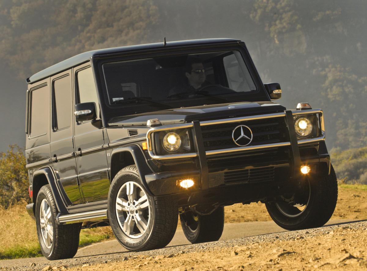 rides cars Mercedes-Benz G550 g-wagen g-class