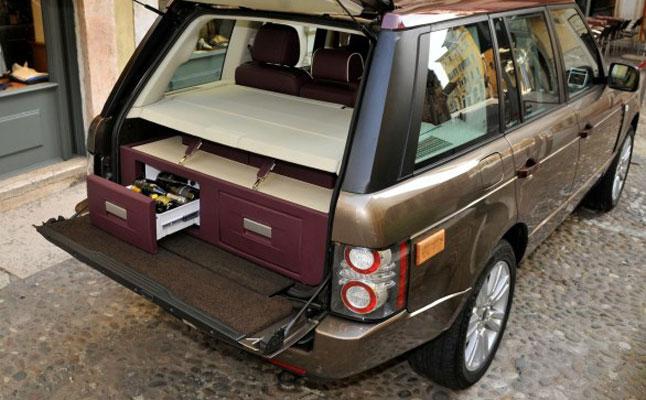 rides cars Range Rover Spirito DiVino wine