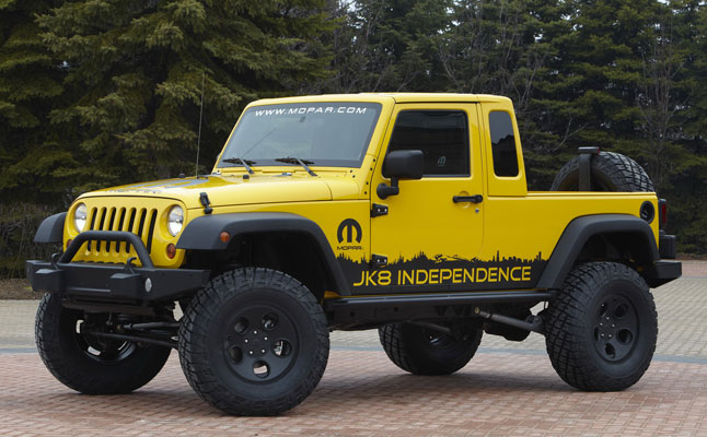rides cars jeep wrangler pickup truck
