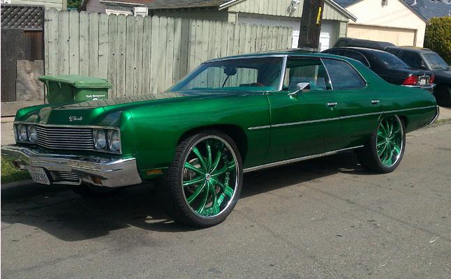 rides cars 1973 Chevrolet impala donk oakland