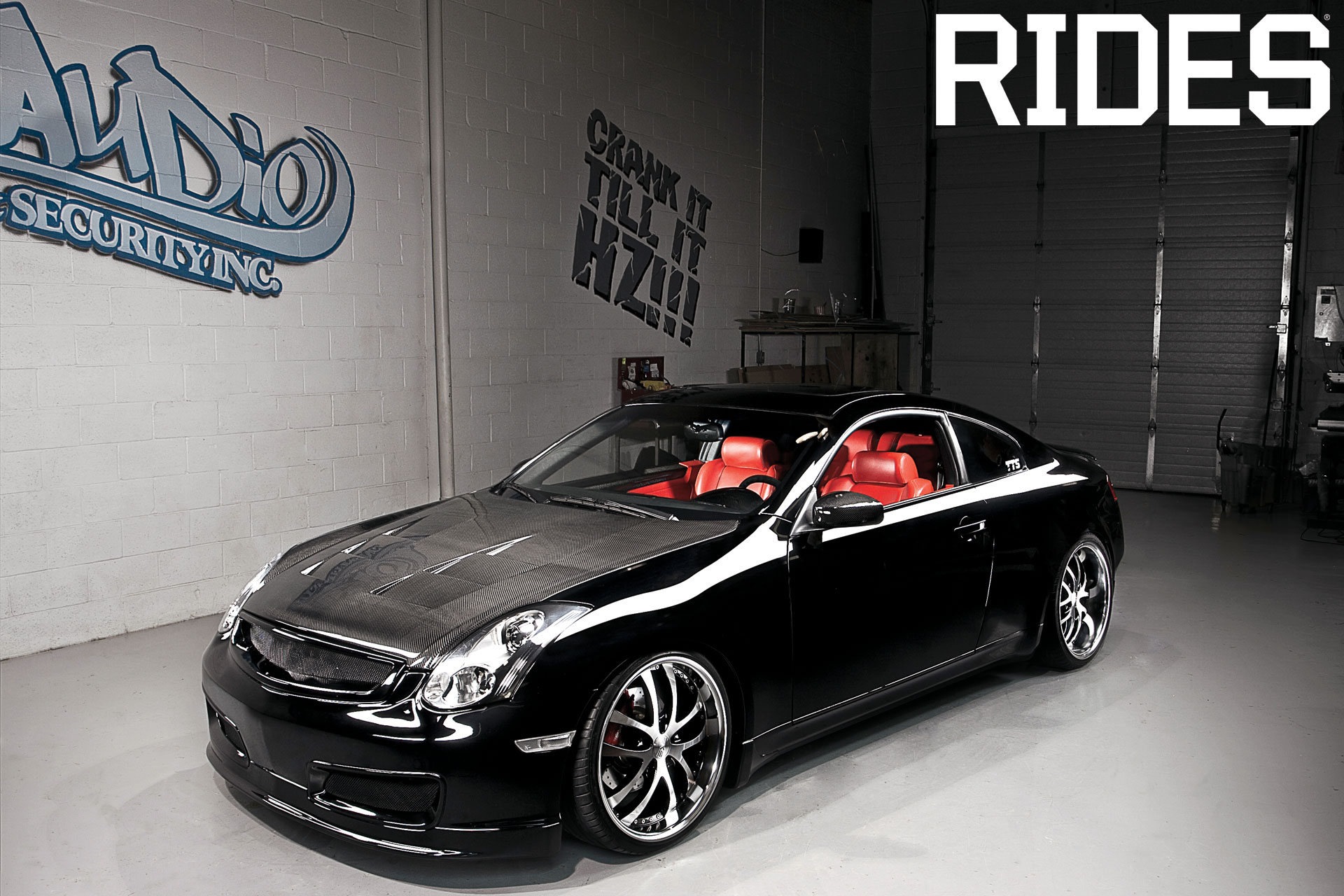 rides cars infiniti g35 20hz audio canada mr cleen
