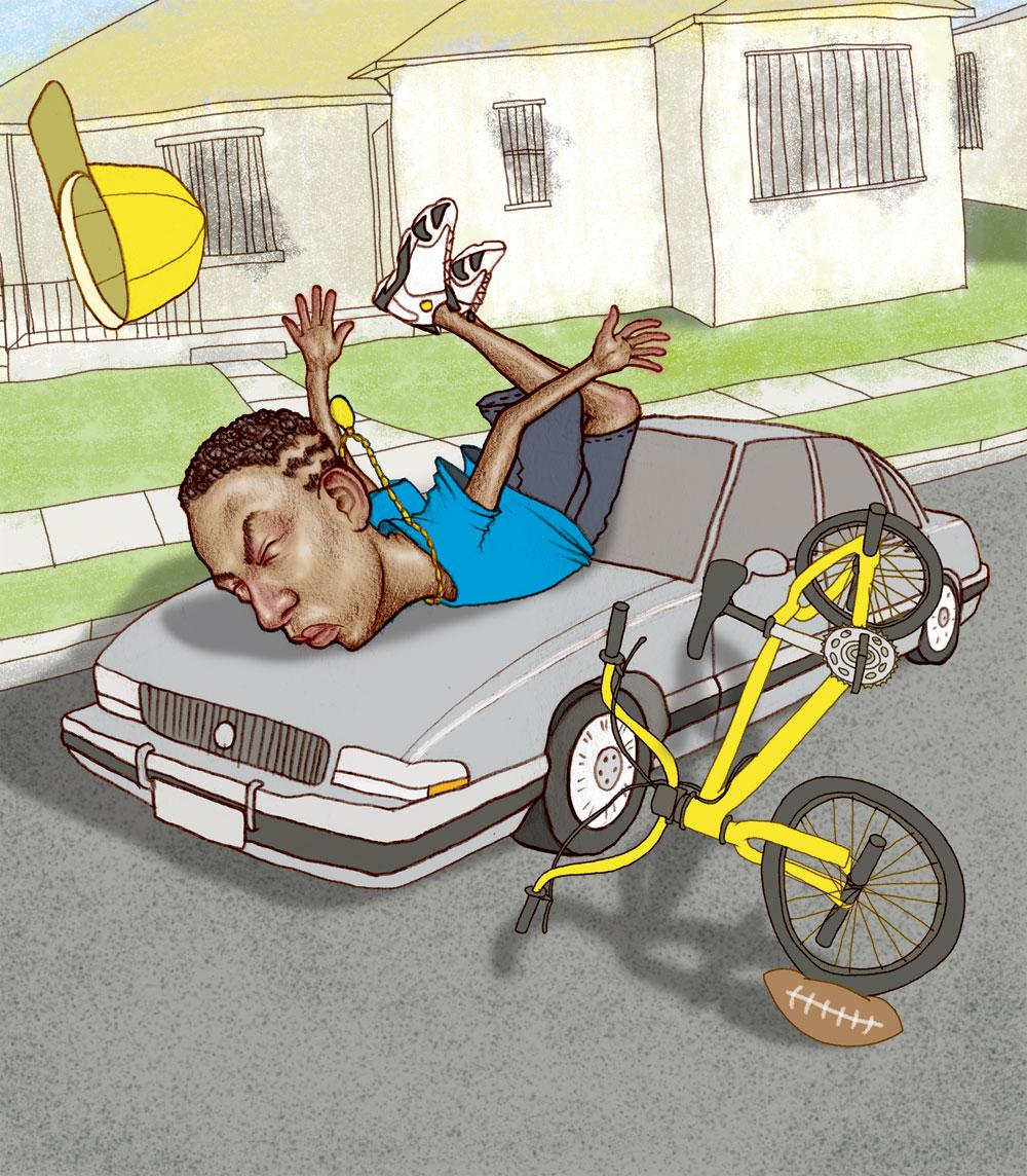 rides cars kendrick lamar talkin' crash