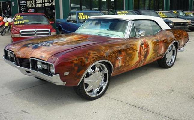 1968, Oldsmobile, Cutlass, Custom, Rides