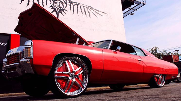 rides cars donk atlanta 1971 chevy chevrolet impala