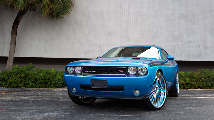 Dodge, Challenger, 2009, Rides, Custom
