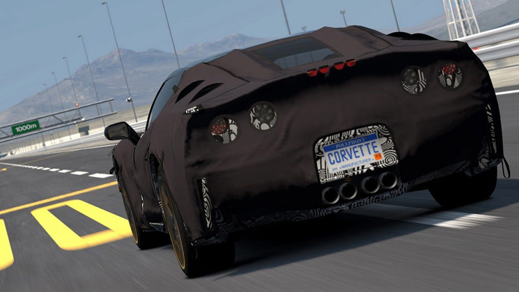 c7 corvette chevrolet rides gran turismo 5 preview prototype
