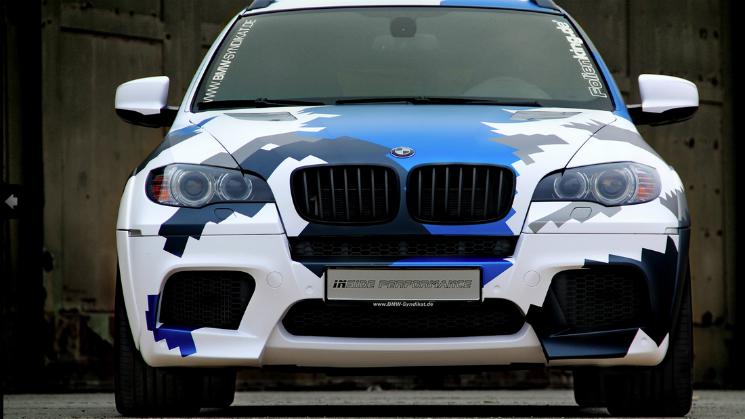 BMW X6M Stealth Rides
