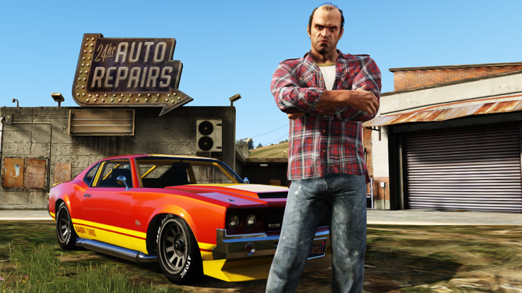 GTA V, Rockstar, RIDES