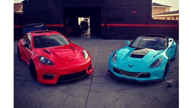 Two amazing vehicles.