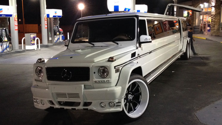 mercedes benz limo limousine  forgiato g-class g wagon g500 g550