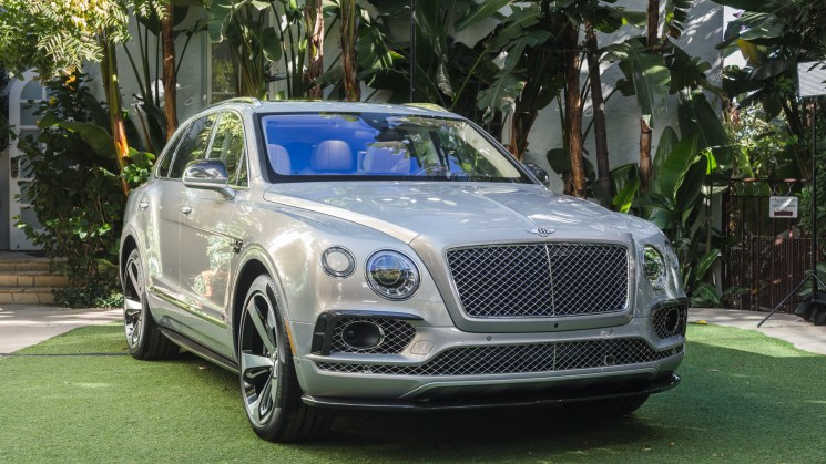 Bentley debuts Bentayga First Edition