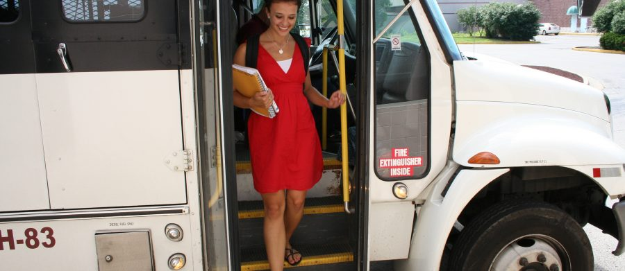 Elect to take public transportation